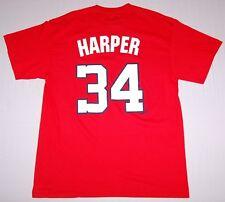 Bryce Harper Washington Nationals Mens Jersey T-Shirt Red XL