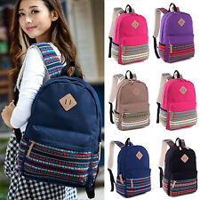 Womens Satchel Travel Bookbag Backpack School College Rucksack Shoulder Bags