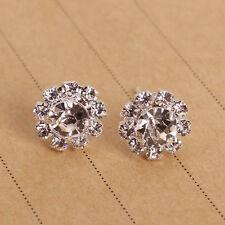 Silver Pretty simple fashion new woman sun flower earrings B5018