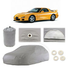 Mazda RX-7 4 Layer Car Cover Fitted In Out door Water Proof Rain Snow Sun Dust