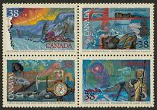 Canada 1236a MNH Arctic Explorers, Flag, Ship, Compass
