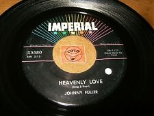 JOHNNY FULLER - HEAVENLY LOVE - WHISPERING WIND   / LISTEN - MOD R&B  POPCORN