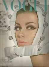 Vogue November 1964 David Bailey-Jane Holzer-1965 American Autos-Leixlip Castle