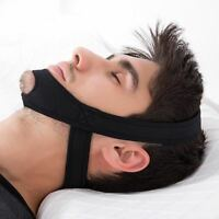 NEW Anti Snore Chin Straps Sleeping Apnea Belt Jaw Support Stop Snoring Safety