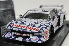 SIDEWAYS SW44 BMW M1 SCHNITZER ZOLDER DRM 1981 NEW 1/32 SLOT CAR IN DISPLAY CASE