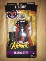 "Marvel Legends Avengers Taskmaster Infinity War 6"" Figure BAF Thanos Leg MIB"
