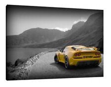 Lotus Exige S 30x20 pulgadas lienzo-Impresión Pared Arte enmarcado cuadro