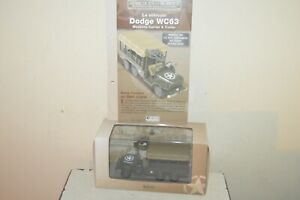 Vehicle Military Dodge WC63 Weapons Car & Trailers Atlas 1/43 New Specification