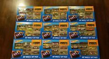 Hot Wheels Gift Pack 9 Pack Exclusive Decoration! Datsun 620 Black (Lot of 9)