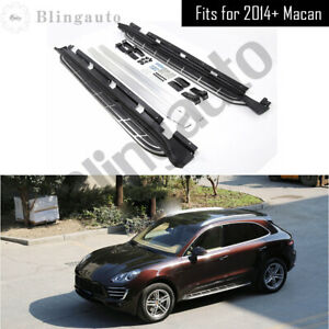 2Pcs Running board side step nerf bar fits for Porsche Macan S Turbo 2014-2021