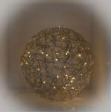 Drahtkugel-Leuchte, Durchmesser ca. 28 cm, neu