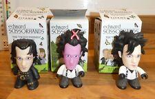 mini mystery titan figures complete 3 x Edward Scissorhand Jonny depp
