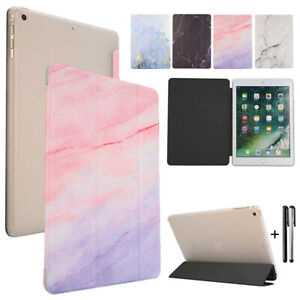 Marble Pattern TPU Cover Case For iPad 9.7 5th 6th 7th Gen 10.2 Air 2 3 Pro 10.5