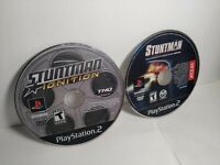 Stuntman 1 & Ignition (Sony Playstation 2 PS2) Lot of 2  Tested Works
