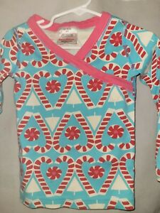 Hanna Andersson Toddler Girl Pajama Top Long Sleeve Organic Cotton Size 3