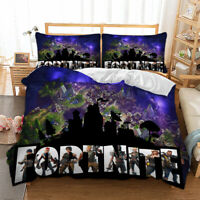 Fortnite Duvet Cover with Pillow Cases Bedding Set Single Double King All Sizes