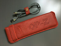 Hand Made Leather Case For Teenage Engineering OP–Z Sequencer - Red