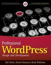 Professional WordPress (Wrox Programmer to Programmer)