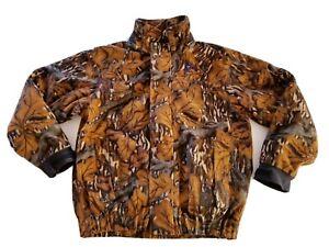 Browning Gore-Tex Hydro Fleece Jacket Large Scent-Sorb Mossy Oak