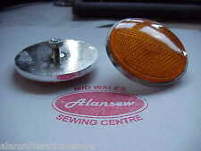 ONE SINGLE ORANGE REFLECTOR FOR SUZUKI GT750 GT550 GT380 GT250 GS1000 GS850