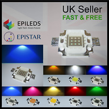 10-100W Epistar Epileds High Power LED Chip 12V COB Aquarium Grow Light Bulb DIY