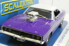 Scalextric C4148 Dodge Charger R/T - Purple 1:32 Slot Car