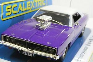 Carrera Digital 132 SEC4148 Dodge Charger R/T - Purple 1:32 Slot Car