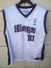 Maillot basket SACRAMENTO KINGS shirt NBA Reebok BIBBY n°10 18 - 20 XL enfant XS