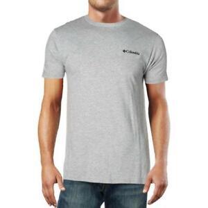 Columbia Sportswear Men's Gray Fitness Workout Running T-shirt (Gray, S)