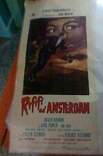 RIFIFI' AD AMSTERDAM locandina originale 1966