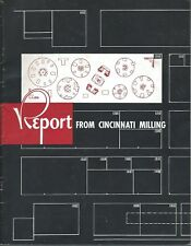Equipment Magazine - Cincinnati Milling - Machine Tool Show Photos 1955 (E4445)