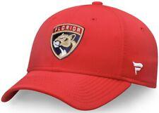 Florida Panthers Fanatics L/XL RED Fit Flex Hat (NEW)