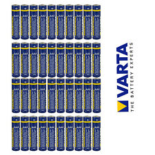 Varta 40x AAA Micro Batterie LR03 Alkaline Indutrial 1,5 V 1200 mAh