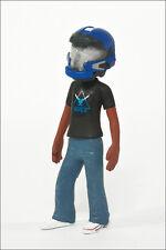 Halo Avatar Series 2 Figure by McFarlane - Blue JFO Helmet and Noble Team Tee