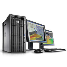 HP z800 Workstation 2x 6-Core Intel Xeon x5670 24x 2,93 Ghz 96 Go Ram 2x1 to HDD