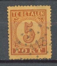 Nederland Port   1 AB met puntstempel 113 (Venlo)