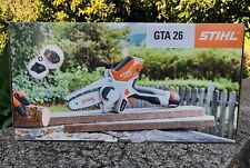STIHL GTA 26 Handheld Pruner Chainsaw Battery Powered  w/ carry case accessories