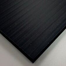 4mm Black Correx Fluted Corrugated Plastic Sheet 9 SIZES Available