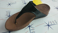 Ciabatta infradito donna FitFlop wobbleboard superjelly cork nero -- 548     615