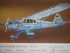Hegi-Burda-Piper- 2 x Bauplan & Bauanleitung !!!!!