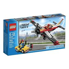 60019 STUNT PLANE lego NEW city town SEALED airplane legos set