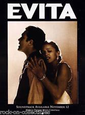 Madonna Poster 1996 Original Evita Promo Poster