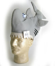 Funny Shark Attack Cap Beach Party Adult Halloween Costume Hat