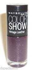 Maybelline Color Show LE Vintage Leather Nail Polish VINTAGE VIOLET 890