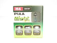 PIAA H4 Night Tech Bulb Halogen Driving Headlight Foglight Twin Pack 3600K 10704