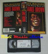 VHS JAMES BROWN SEX MACHINE very best of 1988 KARUSSELL 90 min cd mc dvd lp(VM1)