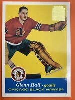 2002 Topps O-Pee-Chee Archives Reprint #8 Glenn Hall Chicago Blackhawks