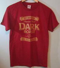 "TIM HORTON'S Coffee ""Dark Roast"" T Shirt Size Adult Medium (Unisex)-NEW"