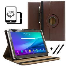 """Tablet 10.1"""" Hülle Tasche für Samsung Galaxy Tab 2 P5110 Schutzhülle Braun 360"""