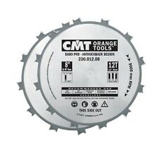 "CMT ORANGE TOOLS 12 TEETH 8"" DIAMETER  DADO PRO SET BLADE CMT230.012.08"